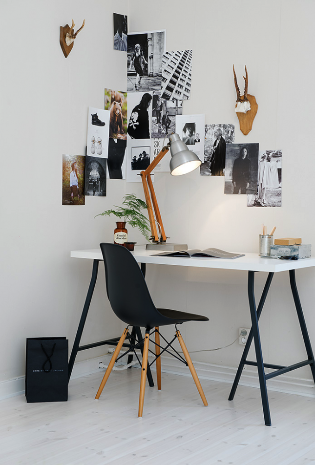 21 Ikea Desk Hacks For The Most Productive Workspace Ever Home Office Decor Home Office Design Interior