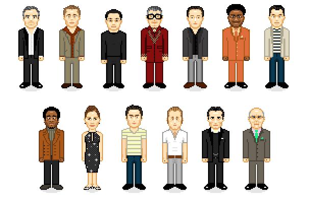 Actores Pixelados