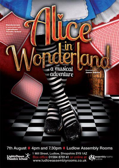 alice-in-wonderland-musical-flyer-posterjpg (400×564) Show - talent show flyer