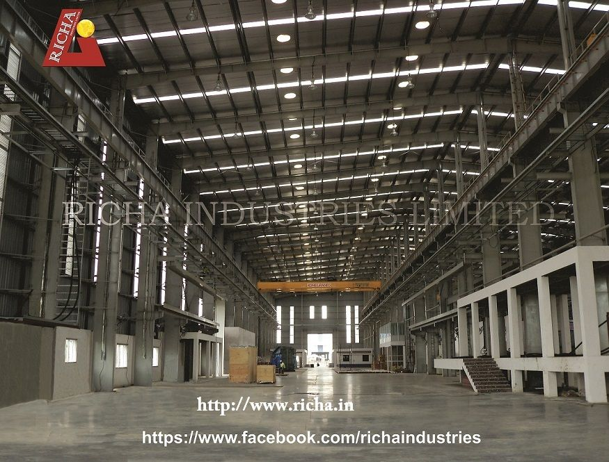 Richa Industries Limited is a leading steel building