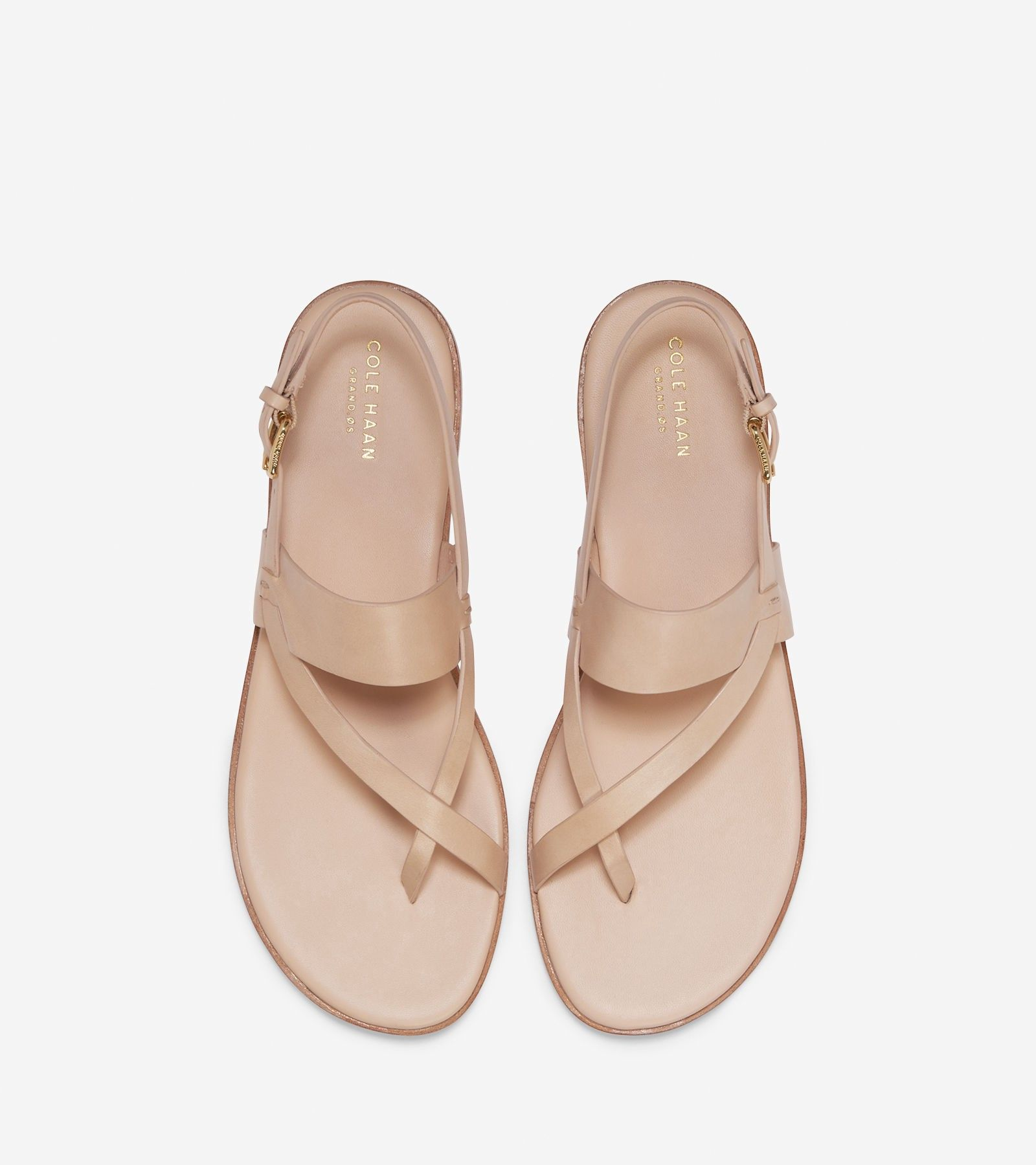 6ed7017d229b Cole Haan Anica Thong Sandal - Nude Leather 7.5