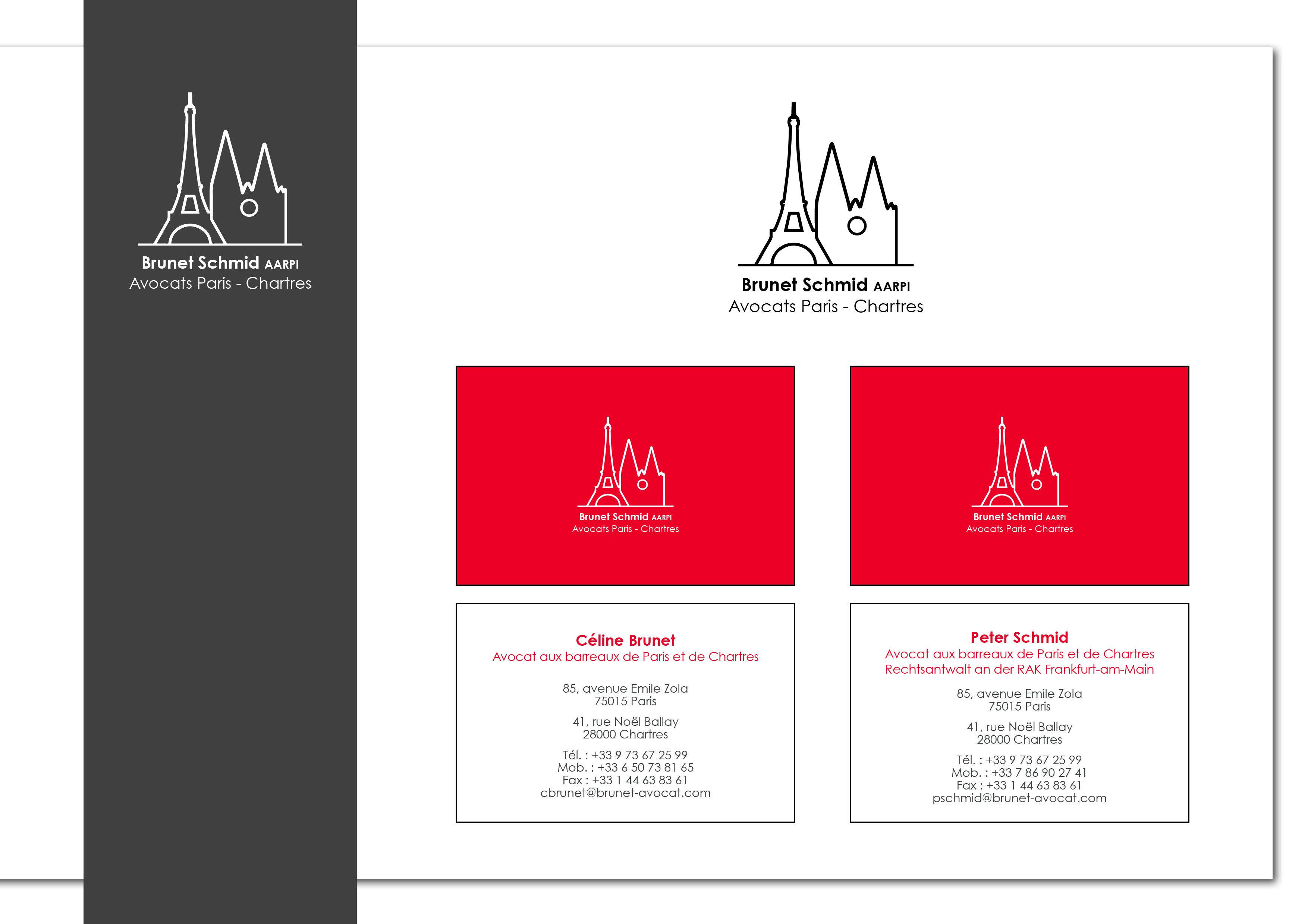 Logo Cartes De Visite Cabinet D Avocats Carte De Visite
