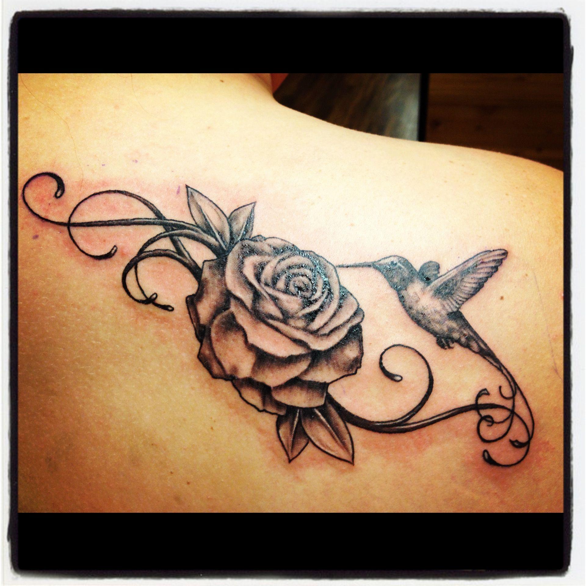 Hummingbird And Honeysuckle Tattoo Honeysuckle tattoo always