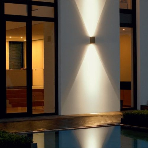 Led Directional Wall Light 33580 33591 Modern Exterior Lighting Exterior House Lights Exterior Wall Light