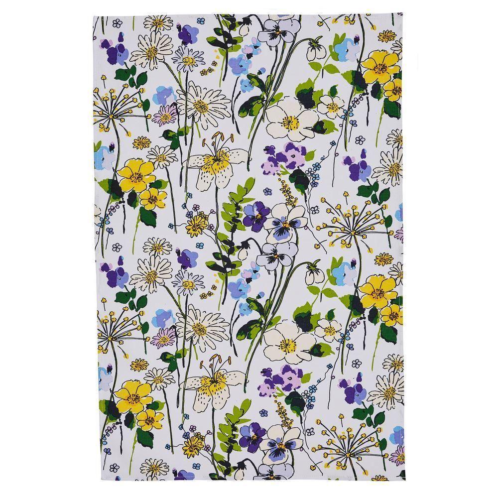 Ulster Weavers Cotton Tea Towel - Wildflower (100% Cotton)