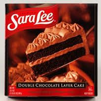 Sara Lee Double Chocolate Layer Cake Awesome