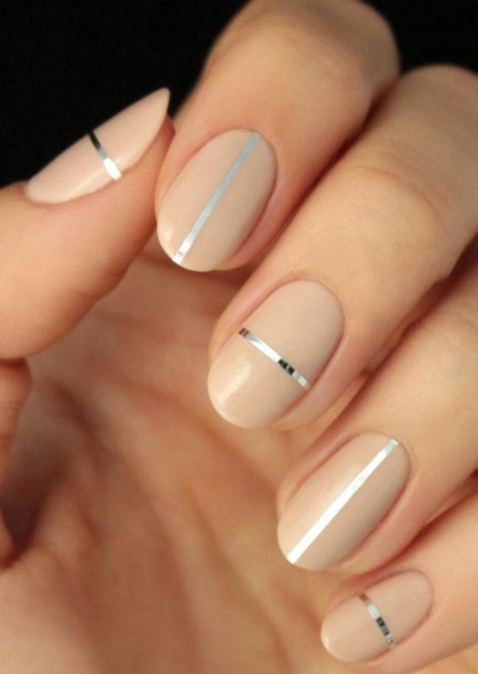 Célèbre La manucure en couleur nude - idées originales pour votre nail art  UG44