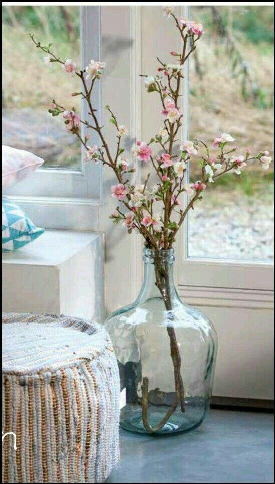 Action vaas, Bloesem takken | ideas | Pinterest | Große vasen, Vasen ...