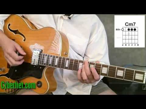 Jazz Guitar Chords in II V Chord Progression - Part 1 - http://music.onwired.biz/jazz-music-videos/jazz-guitar-chords-in-ii-v-chord-progression-part-1/