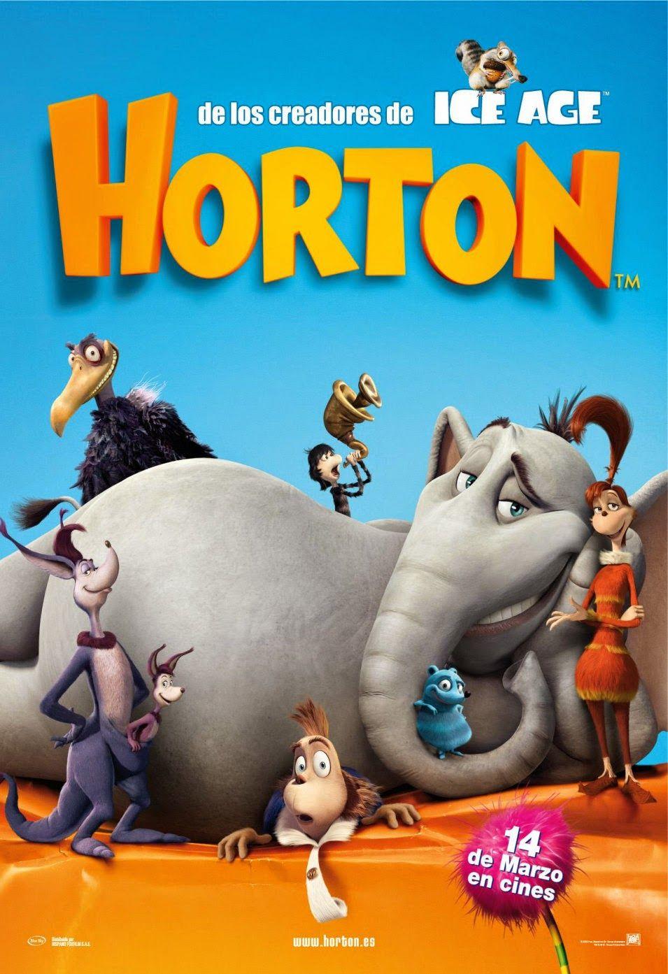 Descargar Peliculas para todo o dia : Horton y El Mundo de los Quién [2008] [DvdRip] [La...