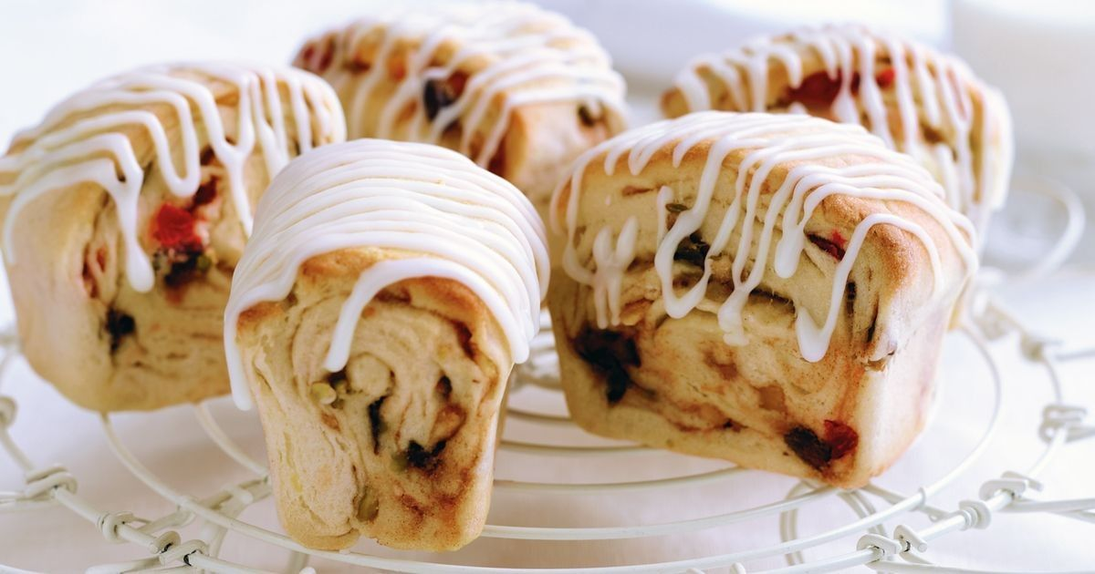 Cherry and pistachio stollen Recipe Christmas bread, German
