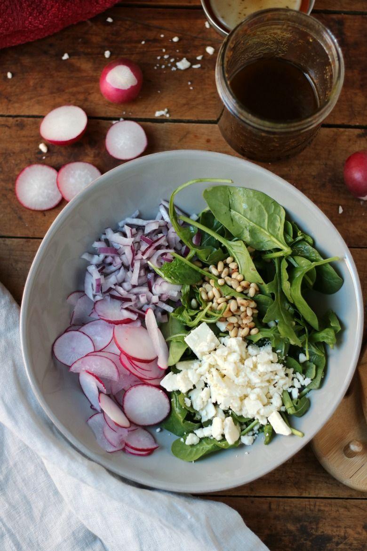 Radish Salad with Feta Cheese | Recipe | Feta cheese salad ...