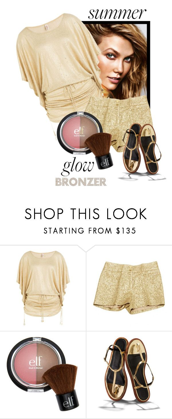 """Bronzer"" by bonnie-wright-1 ❤ liked on Polyvore featuring beauty, Luli Fama, Michael Kors and TIBI"