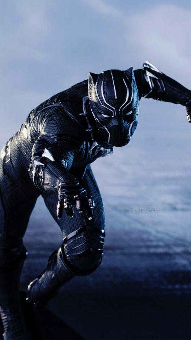 T Challa Black Panther Captain America Civil War Comics Requested Lockscreens Like Or Reblog Film Black Panther Black Panther Hd Wallpaper Movie Black