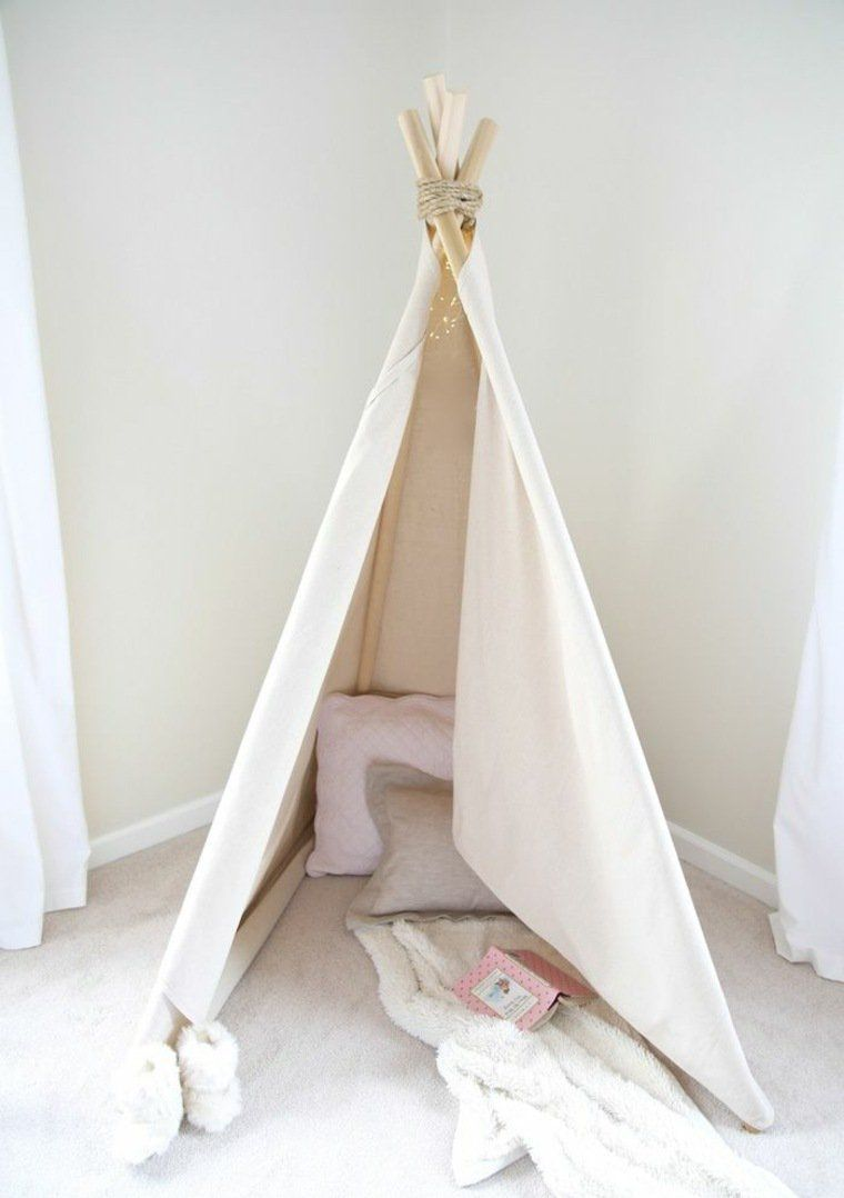 fabriquer un tipi pour enfant chez soi cabane indienne. Black Bedroom Furniture Sets. Home Design Ideas