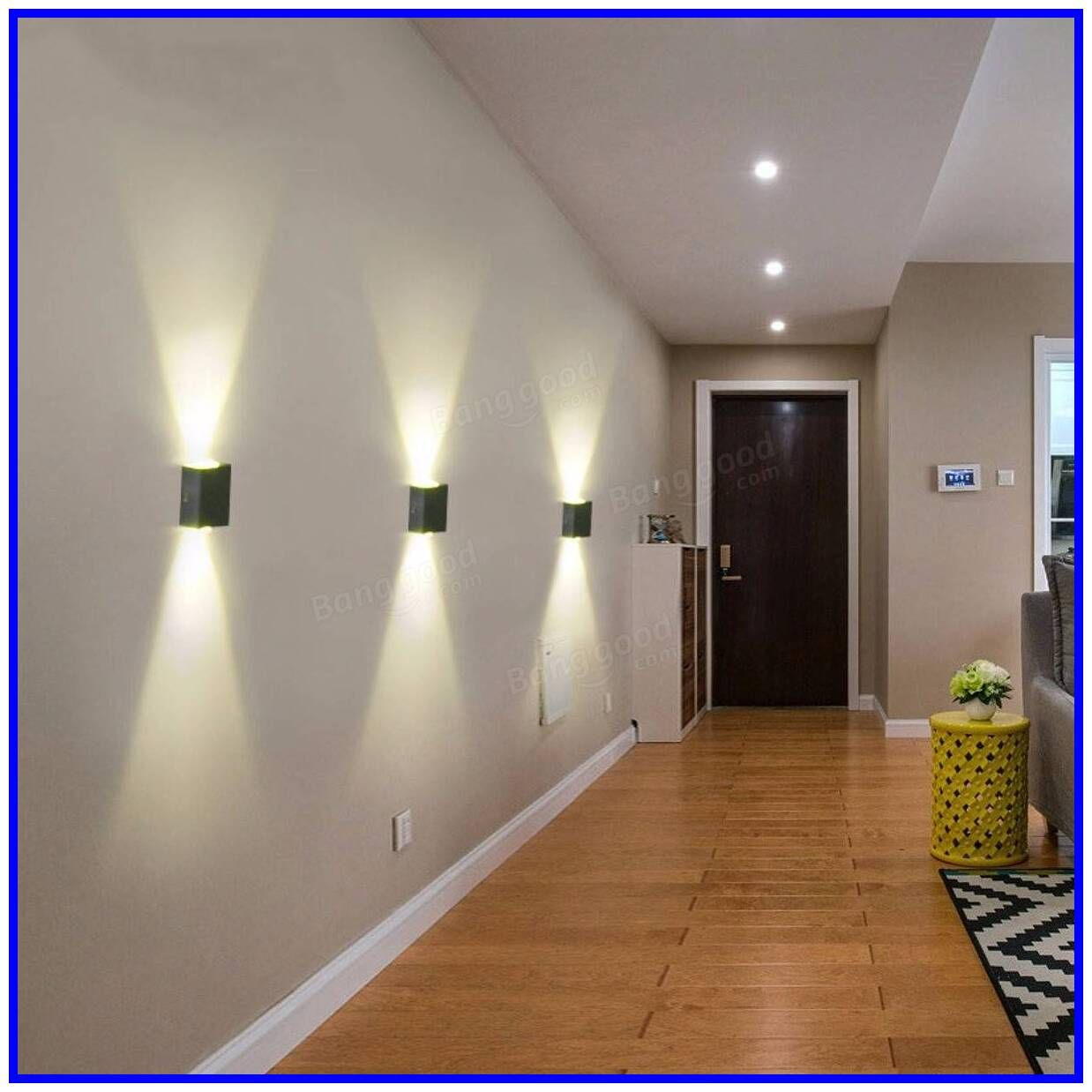 44 09 Modern 3w Led Wall Sconce Light Fixture Indoor Hallway Up