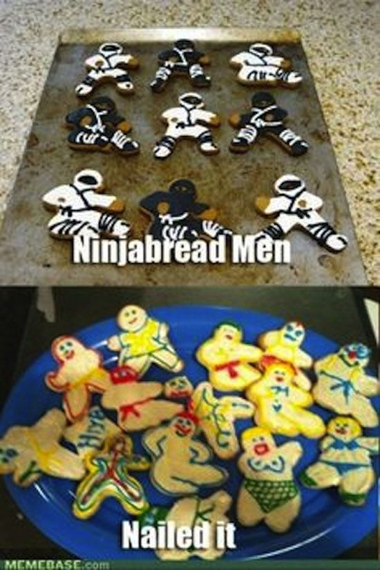 Nailed It Cooking Meme