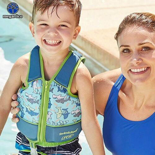 Kids Life Vest For Children 2 6 Years Old Swim Trainer Foam Float Pad New Ebay Swim Trainer Kids Life Jackets Kids Swimming