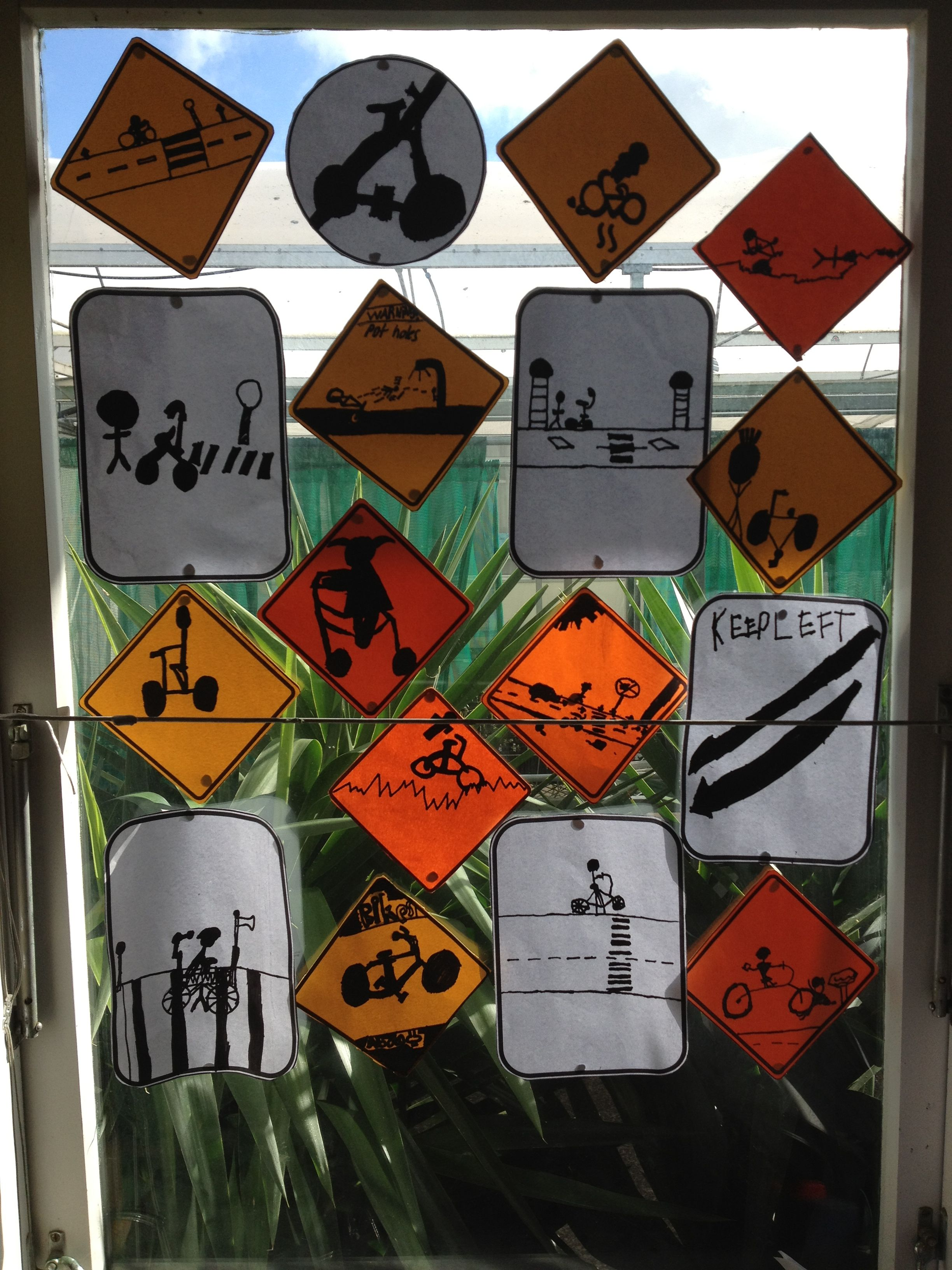 Signs And Symbols For Bike Safety