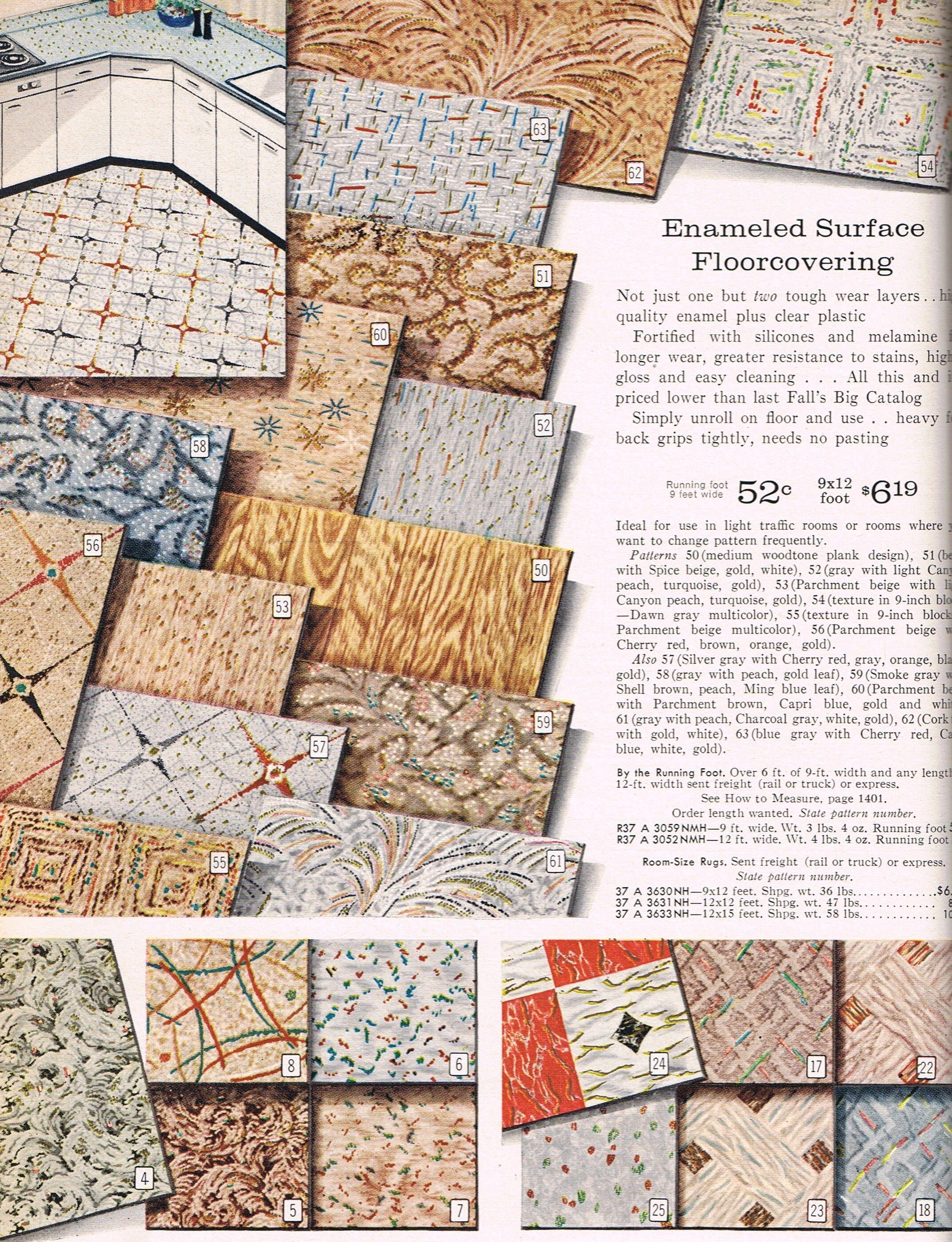 Amazing Mcm Floor Tiles Vinyl Flooring Kitchen Vintage Tile Vinyl Flooring