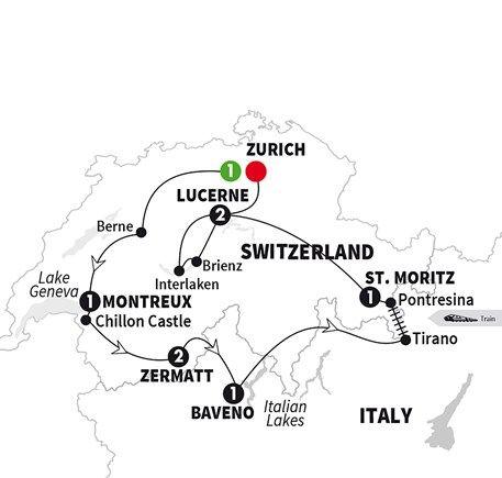 Best of Switzerland Travel Pinterest