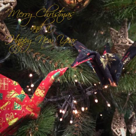 Toen ik mijn eerste stoffen kraanvogels vouwde, besloot ik al dat dit gewoon perfect in een kerst-collectie zou passen. Ambitieus haalde ik hier stoffen voor in huis. Maar helaas… mijn planning lie...