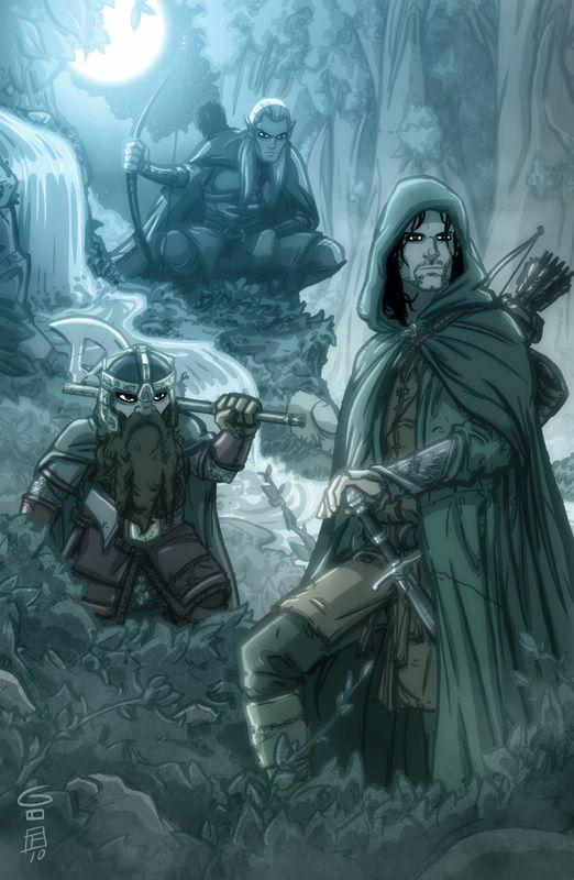 Amazing Art Of Otis Frampton Lord Of The Rings Lotr Tolkien