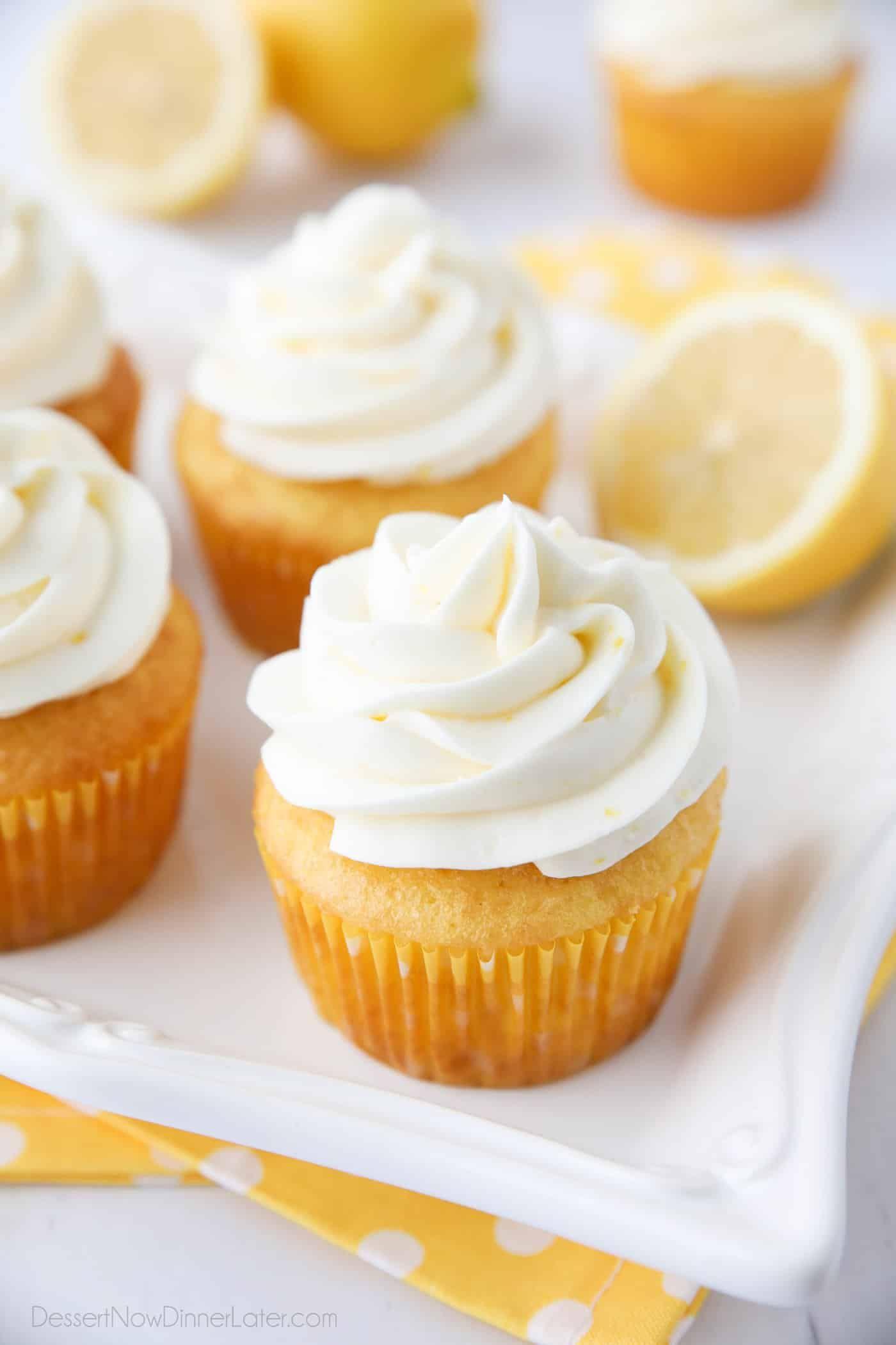 Lemon Cream Cheese Frosting | Dessert Now, Dinner Later! #lemoncreamcheesefrosting
