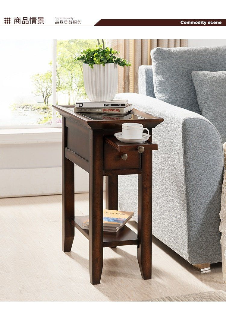 Small Table Living Room Us 168 0 American Sofa Edge A Few European Style Living Room Round In 2020 Table Decor Living Room Round Living Room Modern Living Room Paint