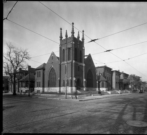 1928, J.M. Weaver Memorial Baptist Church, NE Corner Of