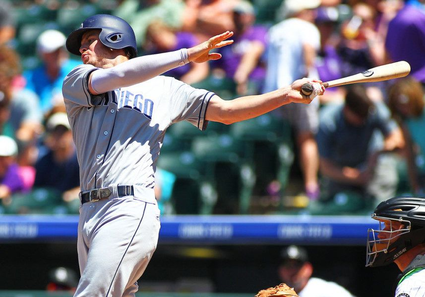 Padres Wil Myers Sets Petco Park Home Run Record San Diego
