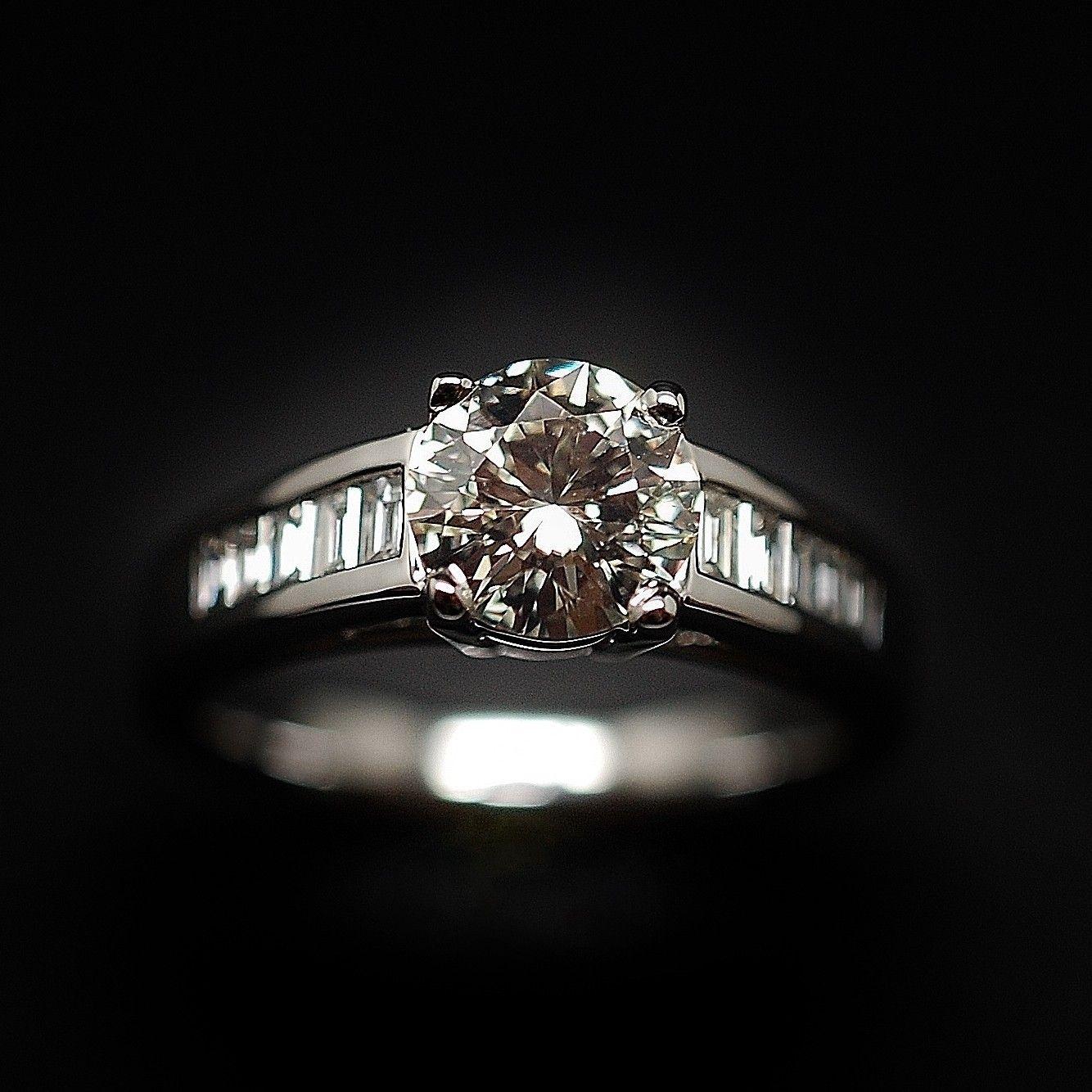 bague diamant solitaire a vendre