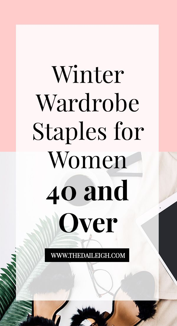 7 Winter Staples for Women 40 and Over Winter essentials, Winter - staples resume printing