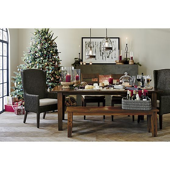 Palmetto II Arm Chair with Cushion and the Basque Dining