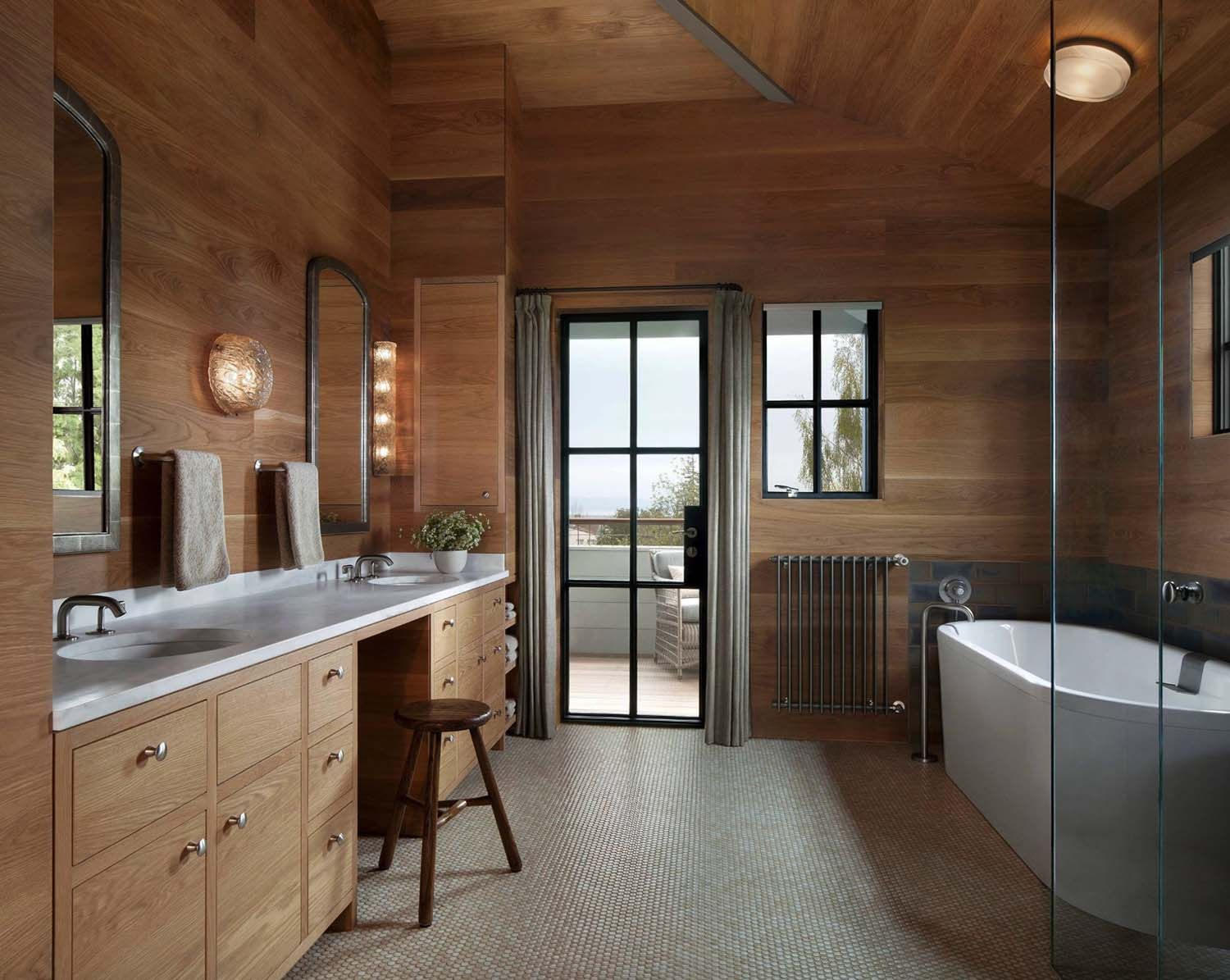 Leed Platinum Residence Gets Remarkable Transformation In San Francisco Craftsman Style Bathrooms House Design Residential Interior