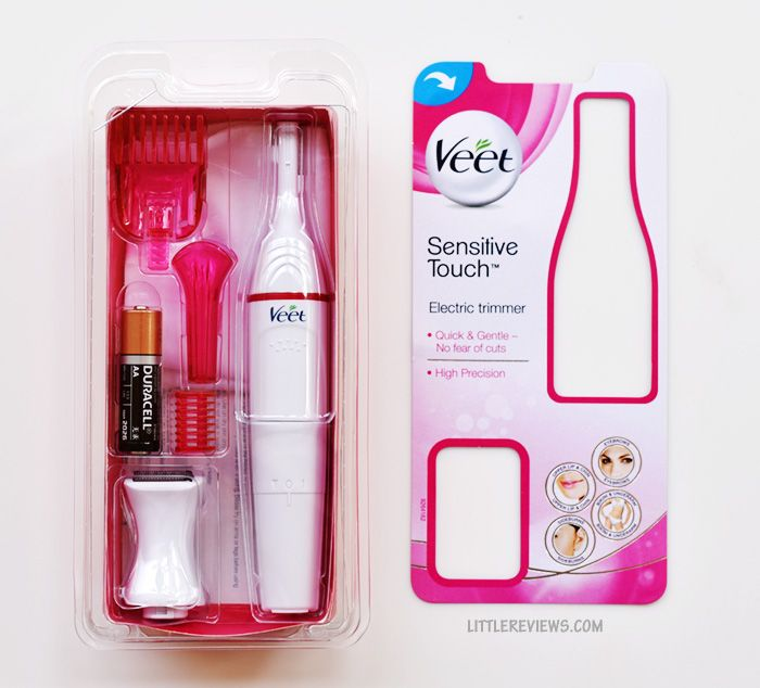 veet sensitive touch electric trimmer for women