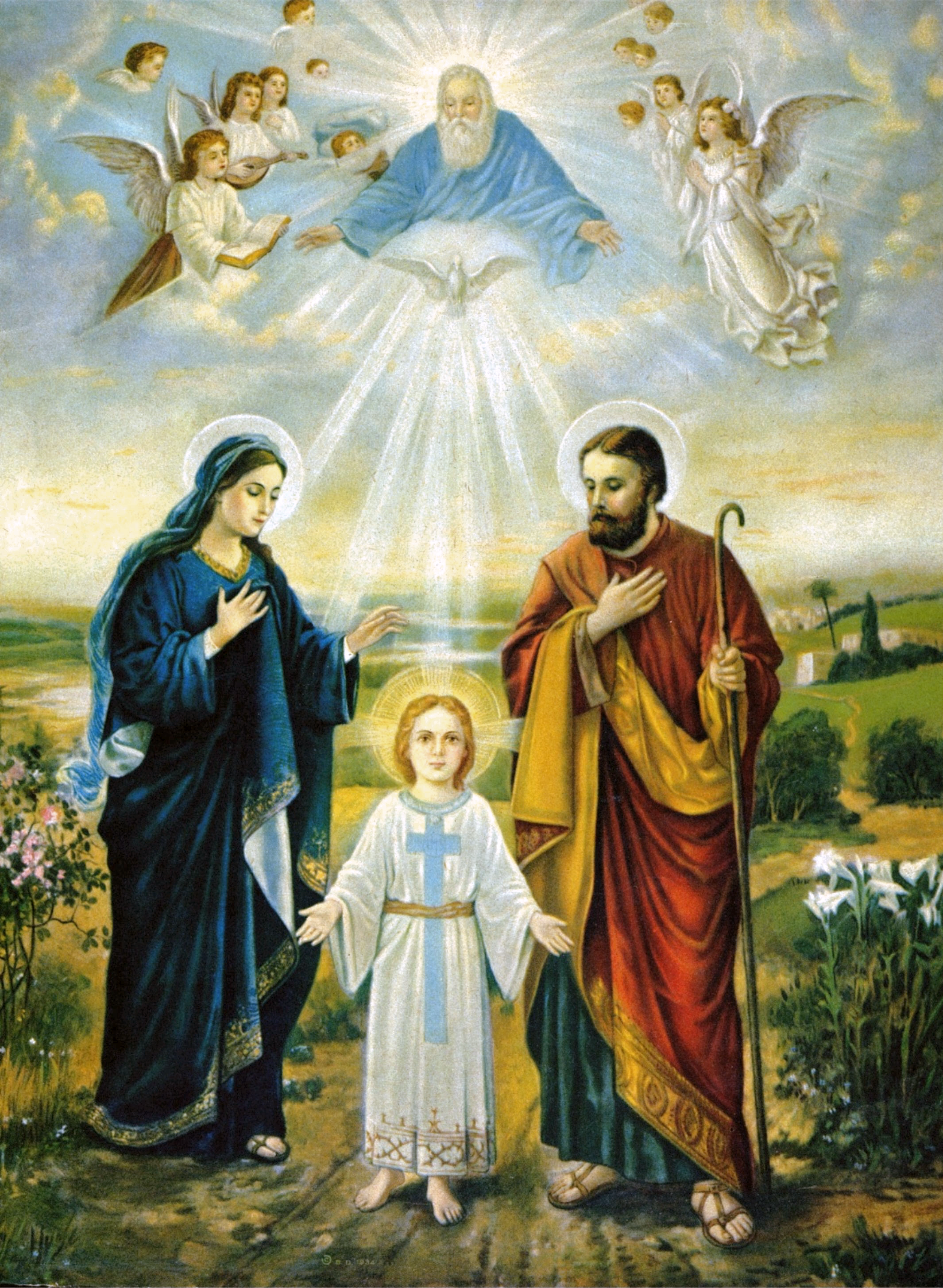 Holy Family And Holy Trinity