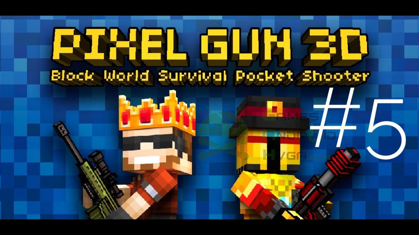 Pixel gun ElectroFox