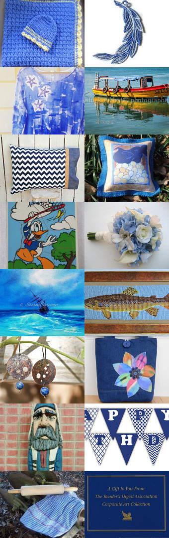 In a Blue Mood by Carol Lade on Etsy--Pinned with TreasuryPin.com