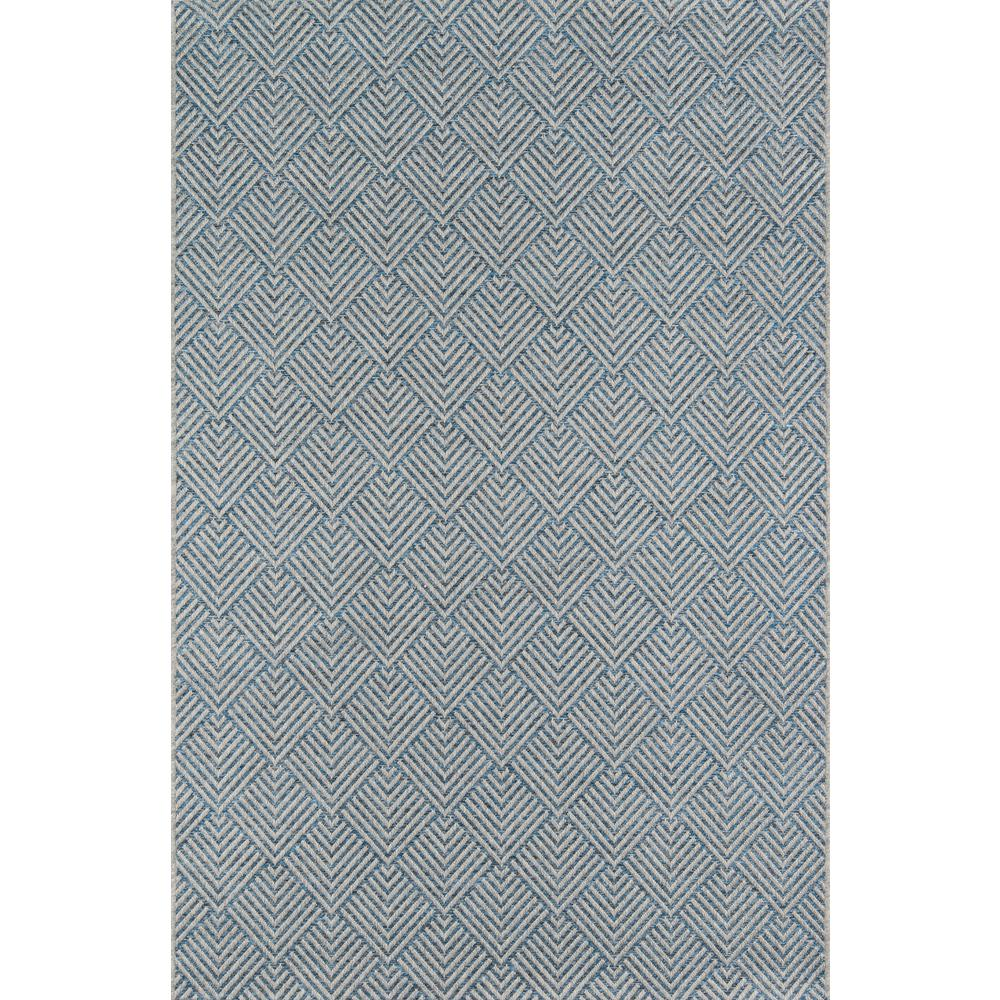Momeni Como Blue 7 Ft 10 In X 10 Ft 10 In Indoor Outdoor Area Rug Blue Grey Outdoor Area Rugs Indoor Outdoor Area Rugs Rugs