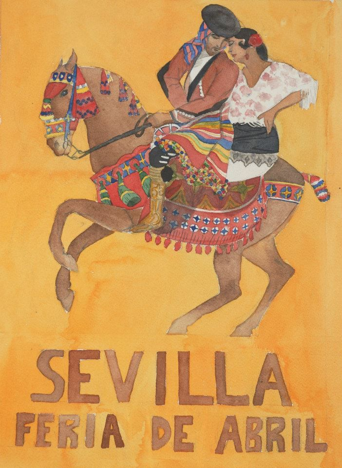 """Résultat de recherche d'images pour """"affiche ancienne tauromachie seville"""""""