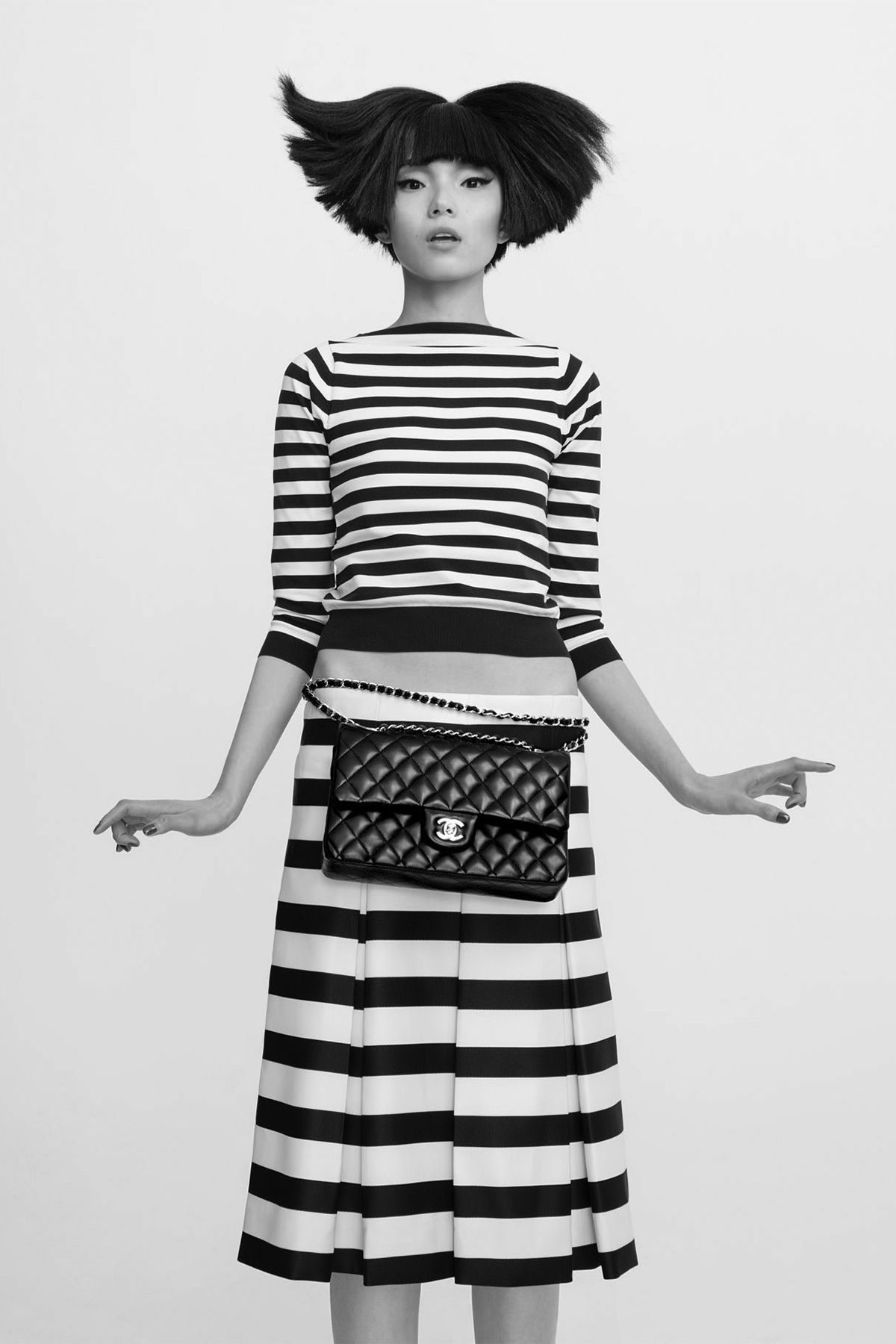 Carine Roitfeld Gives the Chanel 2.55 Bag Multiple Personalities - iconic