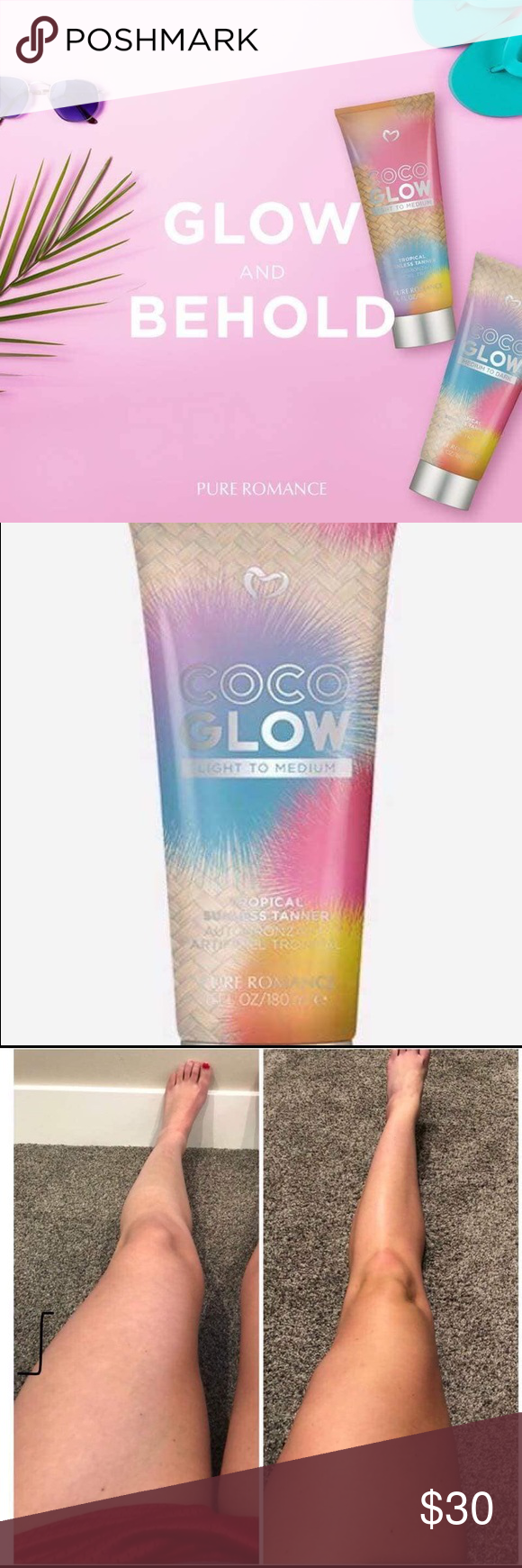 Coco Glow Self Tanning Lotion | Tanning lotion Self ...