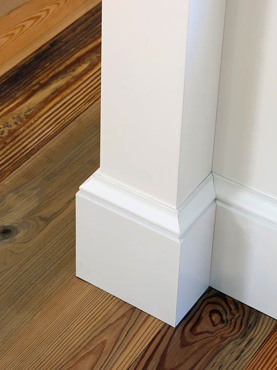 Bold Baseboards Are A Hallmark Of Turn The Century Homes And Command Attention They Finishing Touch To Beautiful Floor