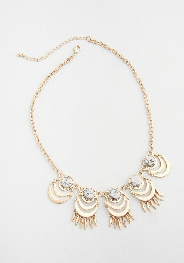 Delicate Intricacies Statement Necklace