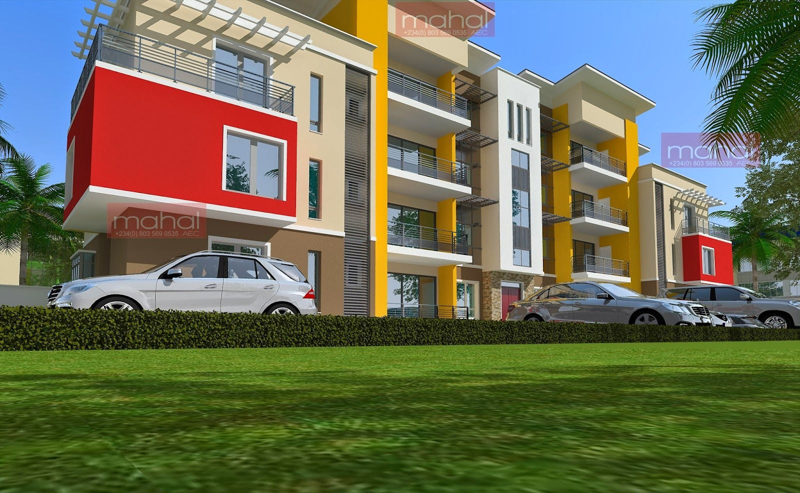 Contemporary Nigerian Residential Architecture Contemporary Nigerian Residential