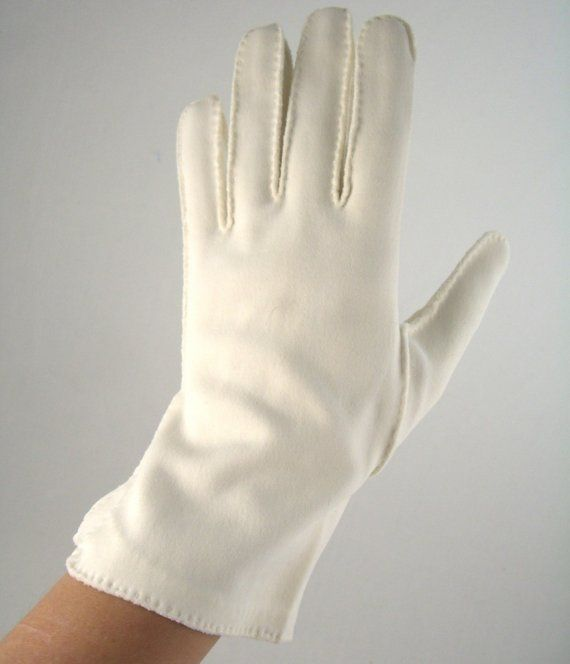 Gloves were a staple in my-ladys wardrobe in the 50's and 60's!