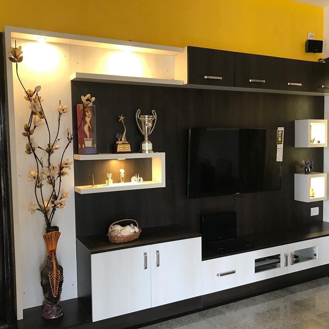 Living Home Hall Modularfurnitures Lucentoffice Interior Interiordesign Hall Interior Design Living Room Tv Unit Designs Tv Unit Furniture Design