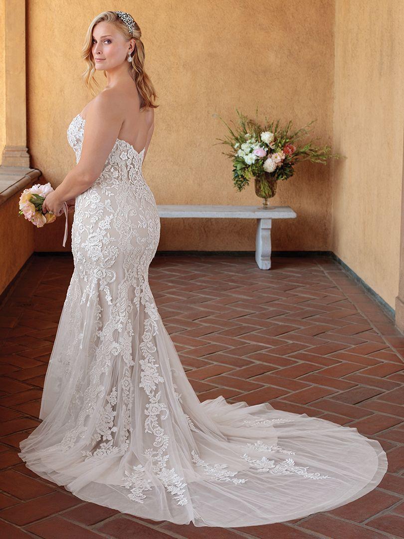 Casablanca Bridal Style 2325 Masie | Plus Size Wedding Dresses ...