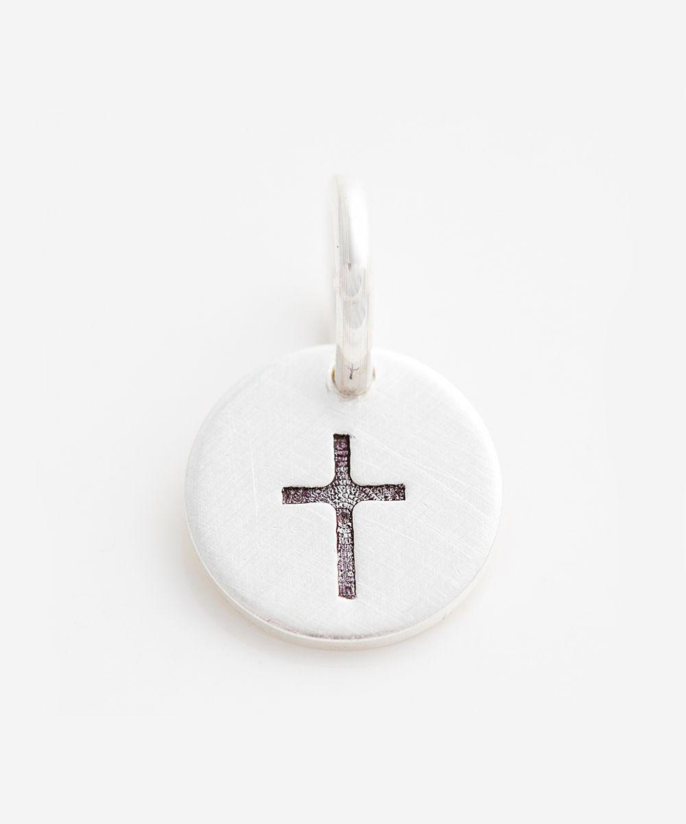 Sterling Silver Cross Charm